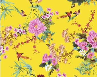 Leaf Decopatch 30 x 40 cm - flowers and birds N 750 - Ref FDA750
