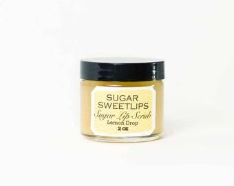 Lemon Drop Sugar Lip Scrub