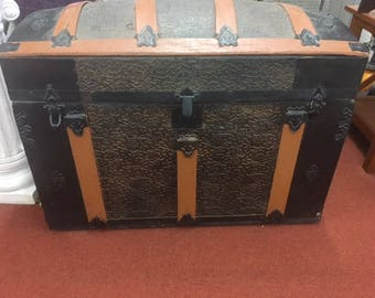 Camel Back Steamer Trunk 1880's