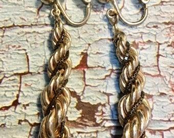 Vintage Rope Earrings