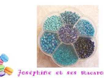 1 box of 2-4 mm glass bead