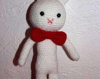 ARTHUR the elegant white rabbit