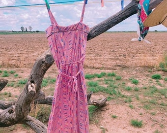 Vintage Purple Dress