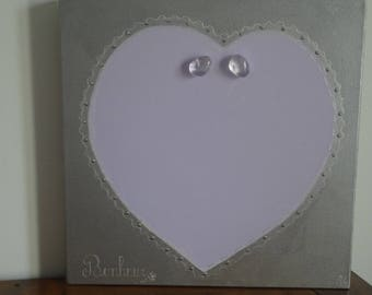 Painting heart painting for home decor
