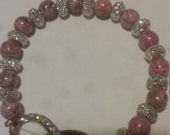 Purple Infinity Bracelet