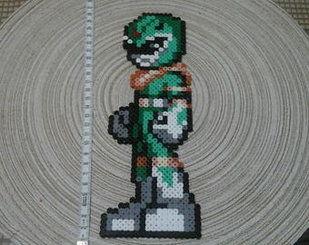 Power Rangers. Green. Pixel art