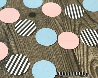 Gender Reveal Paper Garland