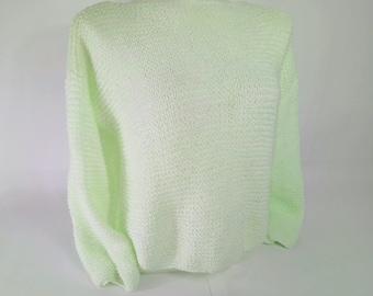 Awesome Color! Slash Neck Pullover
