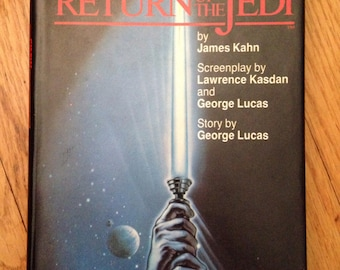 Return of the Jedi, hardback novelization by James Kahn, 1983