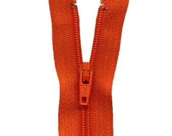 Zip up Nylon Orange C558
