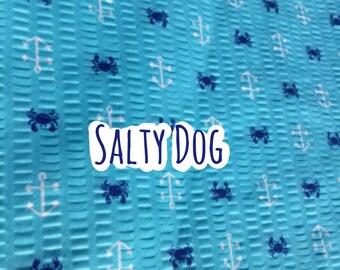Salty Dog dog bandana