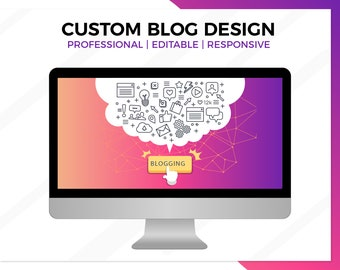 Blogging Website Design, Wordpress Blog Website Design, Blog Design, Blog Web Design, Blog Website, WordPress Blog, Blogger Site