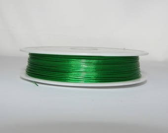 "Crinelle sheathed steel ""green"" 100 m spool."