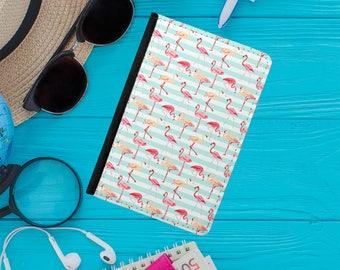 Flamingo Passport Cover / Passport Holder / Passport Wallet / Leather Passport Covers / Travel Accessories - PP-101