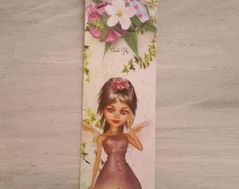 the flower fairy bookmark