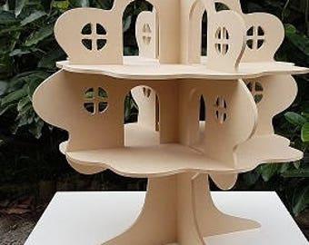 Treehouse Dollhouse DIY