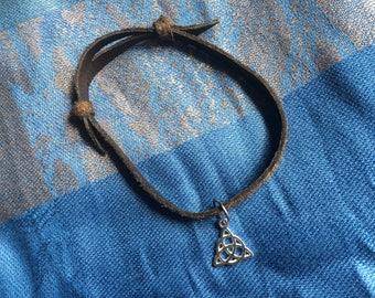 Celtic Trinity Knot Anklet