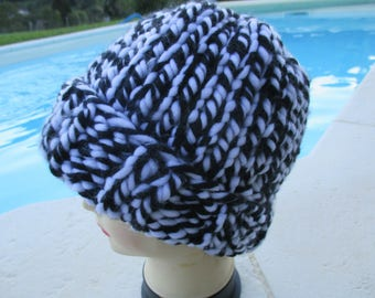 Man or woman or child, made Cap knitted in wool acrylic gift