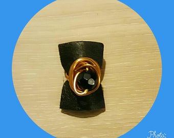 black orange aluminum Adjustable ring