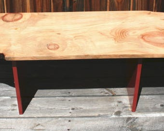 Hand made Coffee Table from old growth pine board
