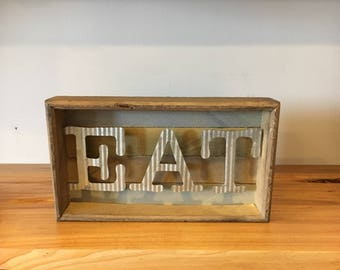 Rustic Eat and Drink Signs