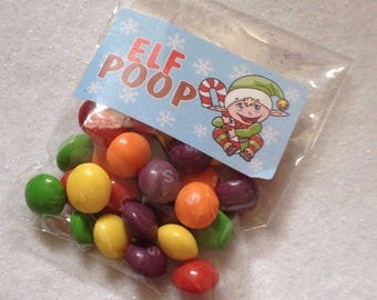 Elf poop/ Poo novelty Christmas Gift Stocking Filler Christmas eve box