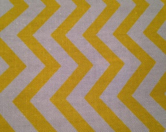 Yellow and white graphic cotton coupon