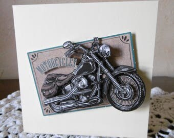 Motorcycle collector? This card is for you