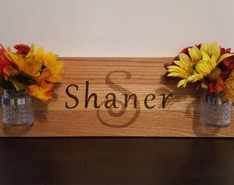 Personalized Family Sign with Jars