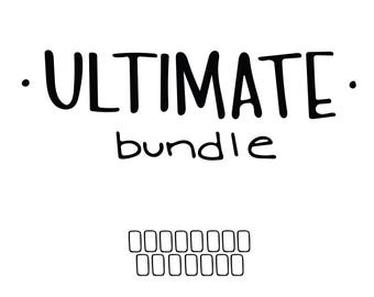 ULTIMATE Bundle // (15) 4 x 6 postcard prints
