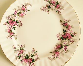 Royal Albert Plates, Dinnerware, x3, Fine Bone China, Gift, Collectable