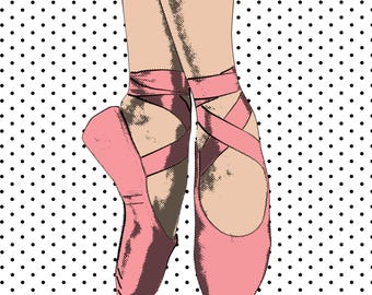 Pointe in Pink