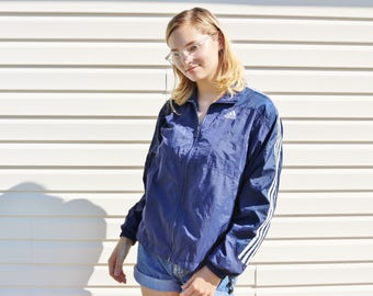 Vintage Women's Adidas Jacket - Size Medium