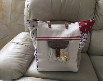 Bag bottom style pomponette