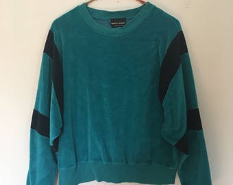 80s Velour Sweatshirt