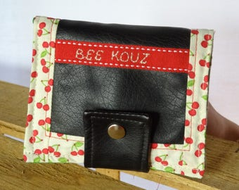 rustic, colorful and original wallet