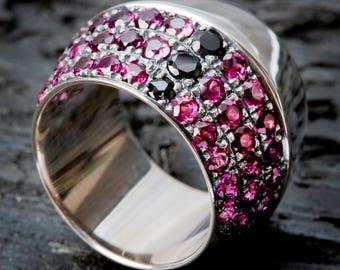 Rose thorn ring