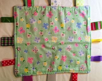 Snuggie Blankie, Baby or Toddler Blanket,Fidget Blanket