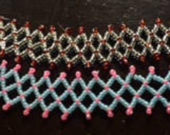 beaded lace bracelets elegant style
