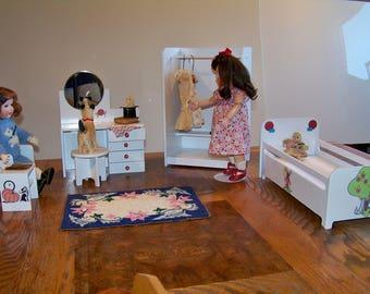 Reproduction Bleuette Fairytale Themed Bedroom Set