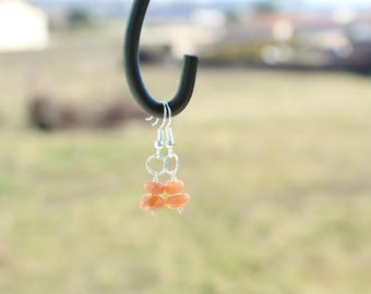 Sunstone earrings symbolizes: life force