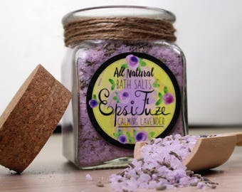 Bath Salts | Lavender | Essential Oils