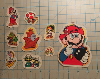 UpCycled Super Mario Brothers Sticker Set