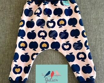 "Pantacool long baby Hoody ""Apple"""