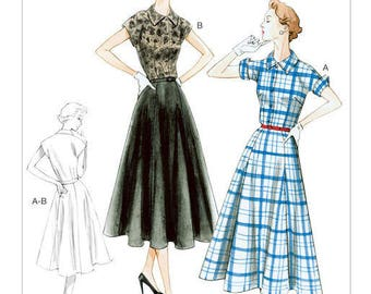By Vogue V9000 retro vintage sewing pattern