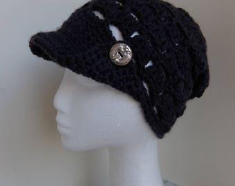 Bonnet casquette Miss Léontine la coquine