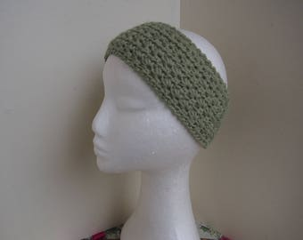 Crocheted headband Miss Amandine the Eglantine
