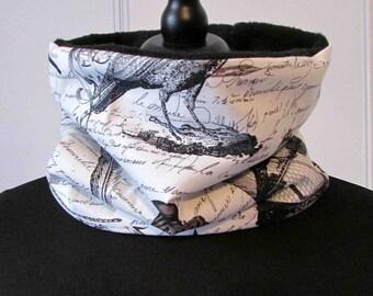 Snood scarf Edgar Allan Poe