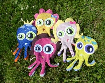 Octopus blanket organic fabrics organic oeko-tex