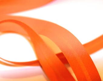 18MM ORANGE POLYCOTTON BIAS